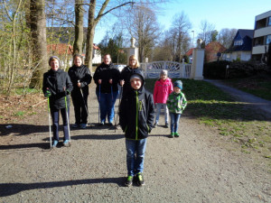 Und hier noch unsere Walking-Ferien-Kinder-Abteilung 😉
